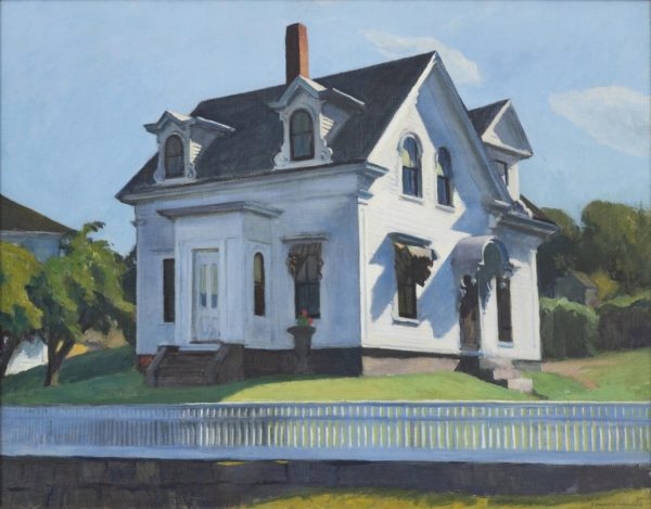 Amerika - Edward Hopper, Hodgkin's House, 1928, privecollectie